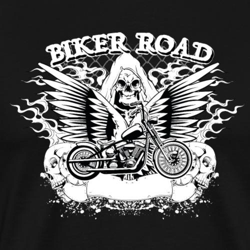 Biker Road Motards - T-shirt Premium Homme
