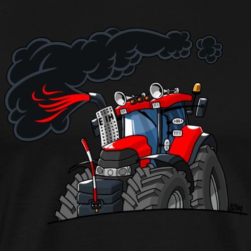 0844 CIH rook - Mannen Premium T-shirt