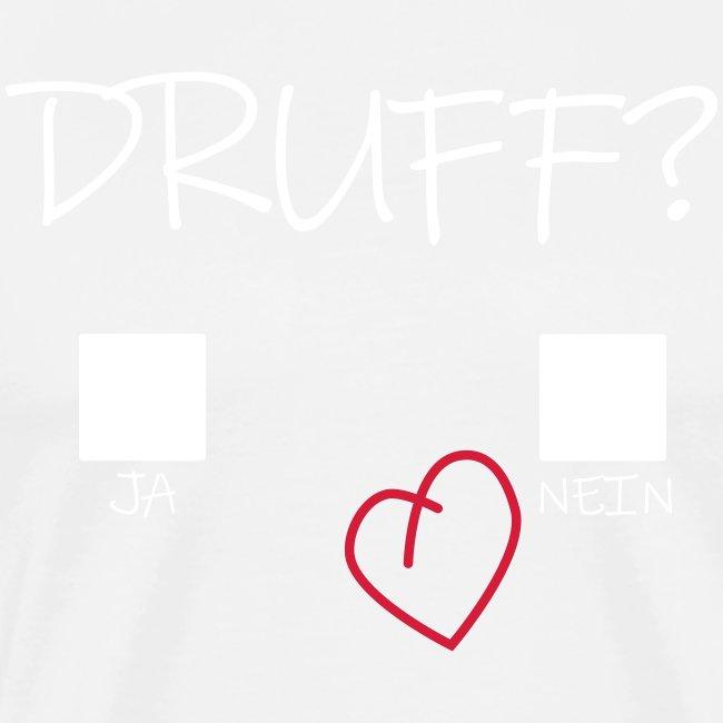 Druff Ja Nein Herz Druffi Afterhour Design