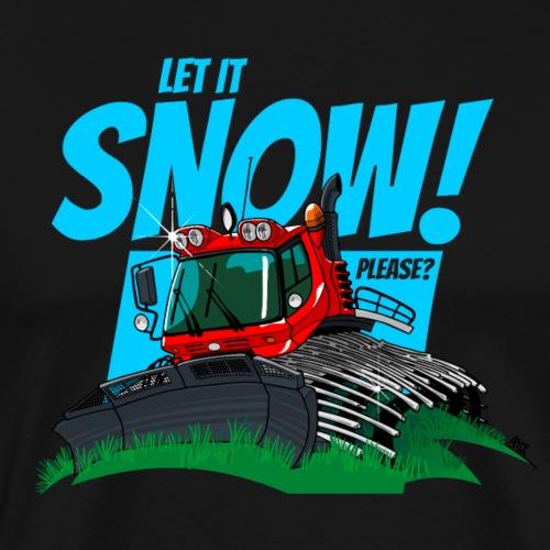 let it snow - Mannen Premium T-shirt