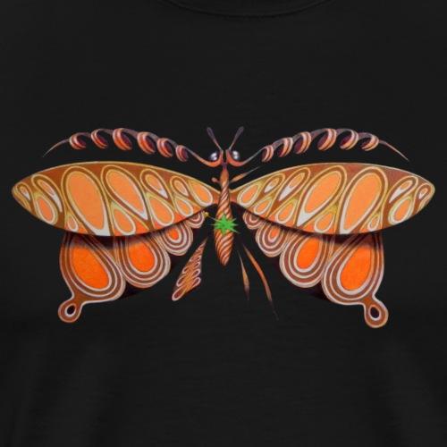 Curl butterfly - Maglietta Premium da uomo