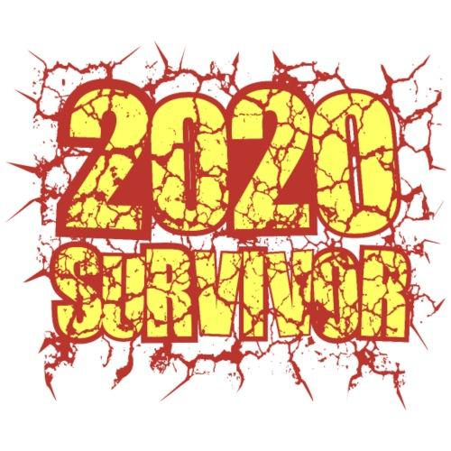 2020 SURVIVOR - Camiseta premium hombre