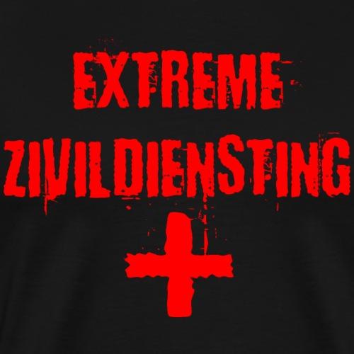 Extreme Zivildiensting Zivildiener lustig Shirt - Männer Premium T-Shirt