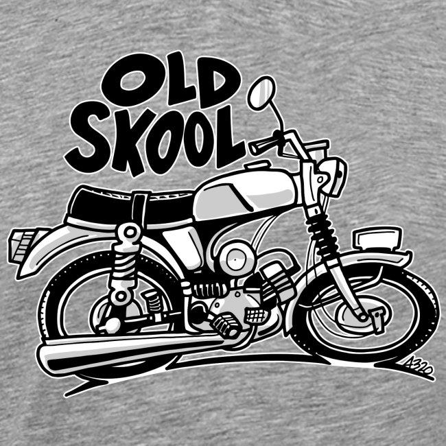 0897 brommer 50cc OLD SKOOL