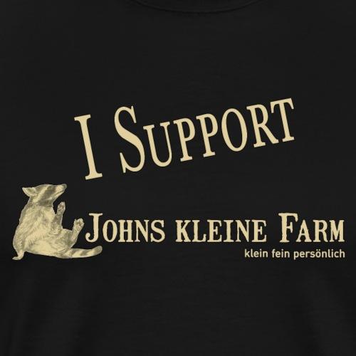 I Support Johns kleine Farm - Männer Premium T-Shirt