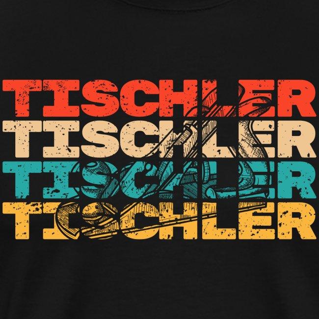 Tischler Hobel Vintage Retro Shirt Geschenk