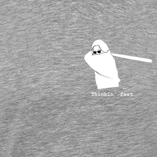 Baseball girl Thinkin' Fast
