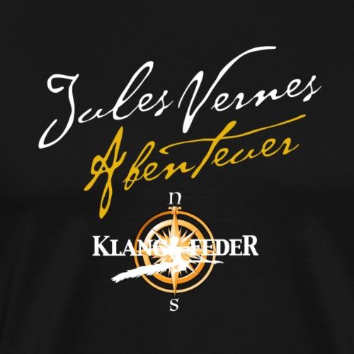 Jules Vernes Abenteuer Klangfeder (Druck vorne) - Männer Premium T-Shirt
