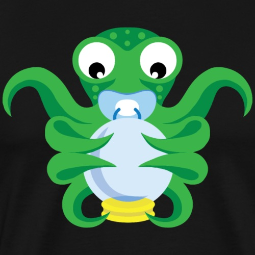 Baby octopus - Men's Premium T-Shirt