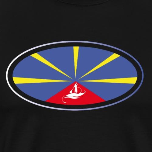 Paddle Reunion Flag - T-shirt Premium Homme