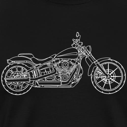 Moto Breakout - T-shirt Premium Homme