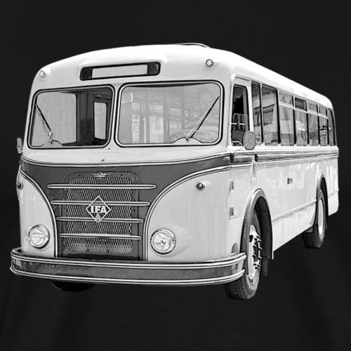 Bus IFA H6B Werdau DDR Oldtimer Ostalgie - Männer Premium T-Shirt