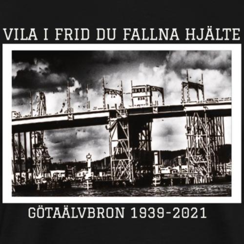Götaälvbron 1939-2021 - Premium-T-shirt herr