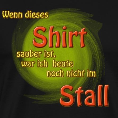 Stallshirt - Männer Premium T-Shirt