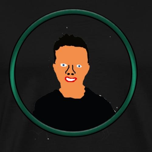 Mannen T-shirt met cartoon Rex - Mannen Premium T-shirt