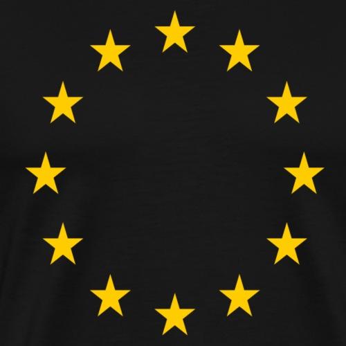 EU Sterne - Männer Premium T-Shirt