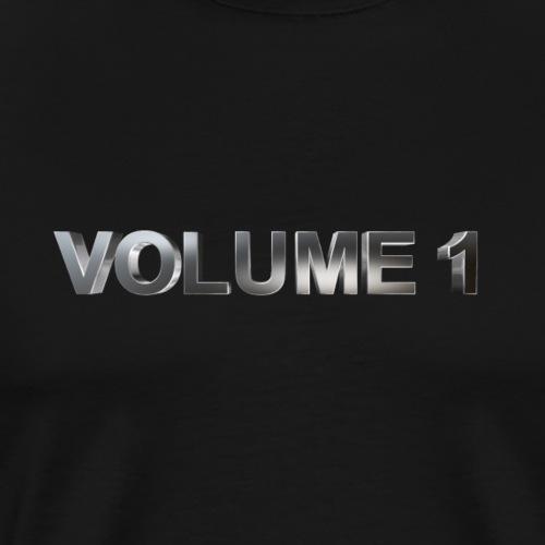 volume 1 metaal 3D - Mannen Premium T-shirt