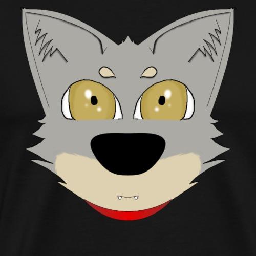 Chien loup - T-shirt Premium Homme