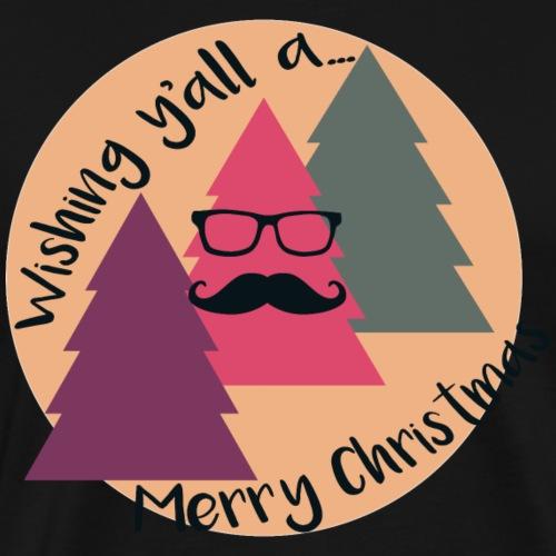 Hip Christmas Tree v1 - Männer Premium T-Shirt