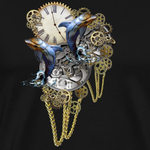 Timepiece sculpture - Men's Premium T-Shirt