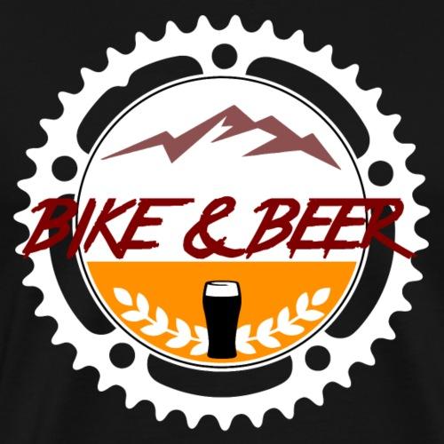 Bike & Beer white-line - Männer Premium T-Shirt