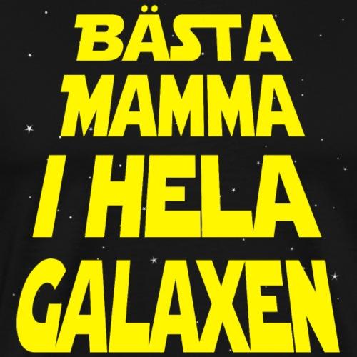 Bästa Mamma i hela galaxen - Premium-T-shirt herr