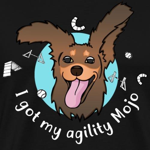 Mojo agility 2 - Männer Premium T-Shirt