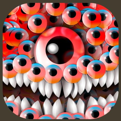 Monstruo del globo ocular - Camiseta premium hombre