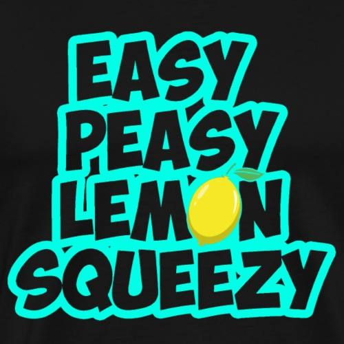 Easy peasy lemon squeezy - Gaming Spruch - Männer Premium T-Shirt