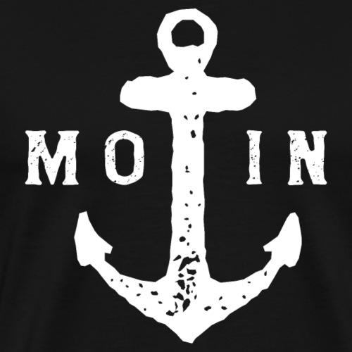 Moin Anker Ostsee Nordsee - Männer Premium T-Shirt