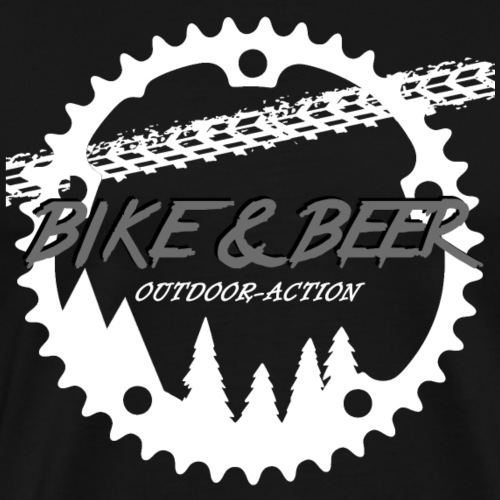 outdoor-action black line - Männer Premium T-Shirt