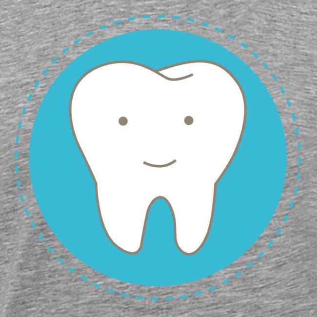 Fröhlicher Zahn