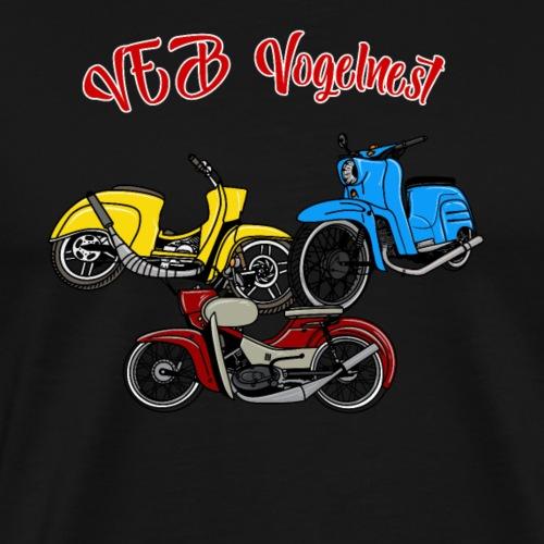 Vogelnest - Männer Premium T-Shirt