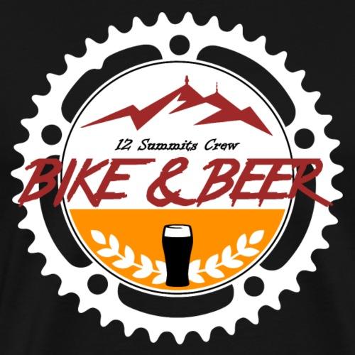 Bike Beer 12SC white-line - Männer Premium T-Shirt