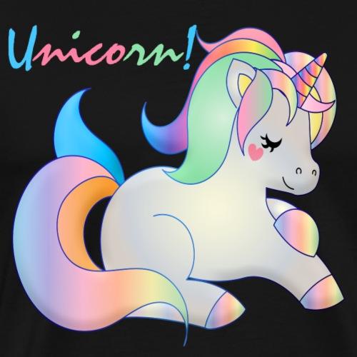 Unicorn ! - Männer Premium T-Shirt