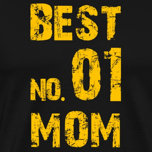 No. 1 BEST MOM - Männer Premium T-Shirt