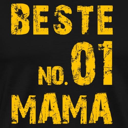 NO. 1 BESTE MAMA - Männer Premium T-Shirt