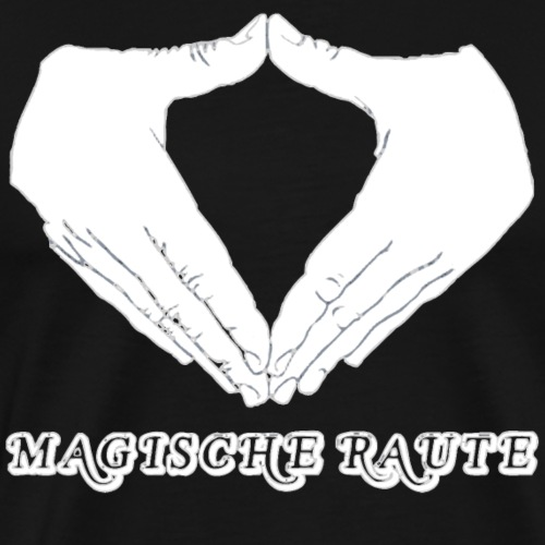 Magische Raute - Männer Premium T-Shirt