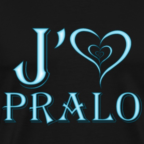 j aime pralo bleu - T-shirt Premium Homme