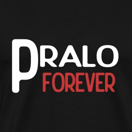 pralo forever blanc et rouge - T-shirt Premium Homme