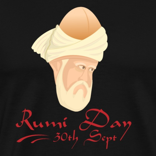 Rumi Day, 30th Sept - Men's Premium T-Shirt