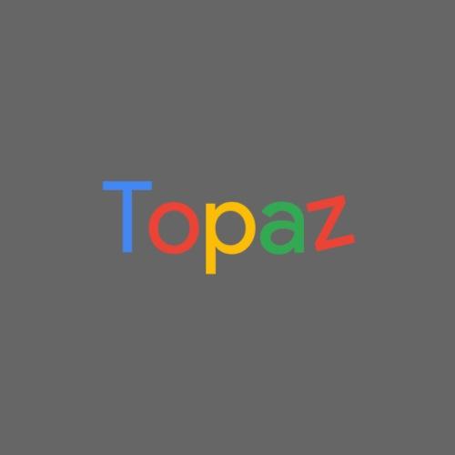 Topaz - Logo - Premium T-skjorte for menn