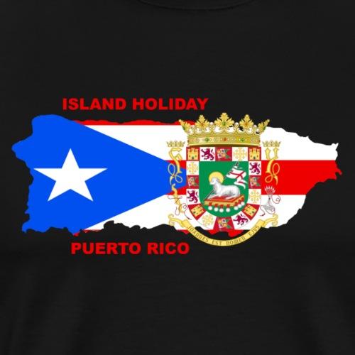 Puerto Rico Island Holiday - Männer Premium T-Shirt