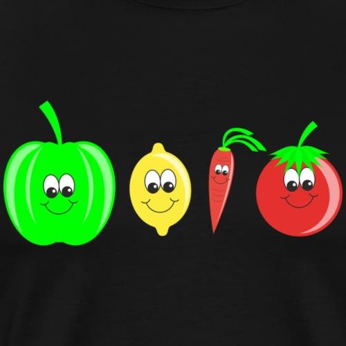 Gemüse - Männer Premium T-Shirt