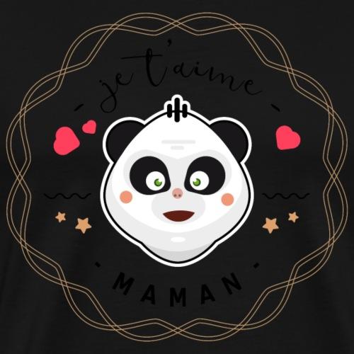 Je t'aime maman - T-shirt Premium Homme