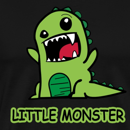 Monster Little Monster - Männer Premium T-Shirt
