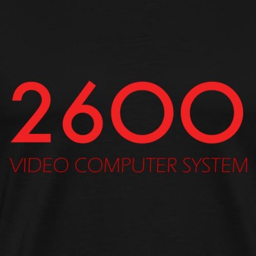 2600 vidéo computer sysrem - T-shirt Premium Homme