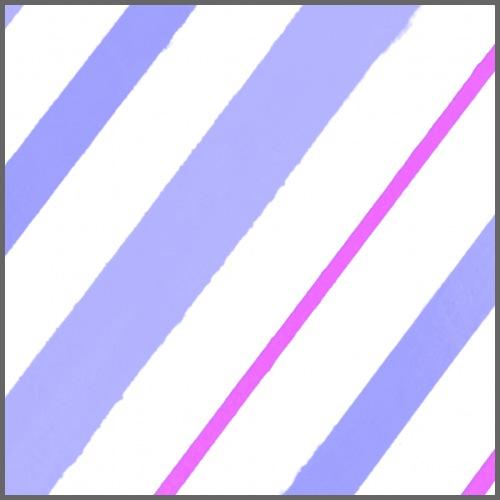 Righe azzurro-bianco-viola - Maglietta Premium da uomo