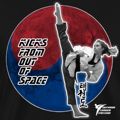 Kicks Space - Männer Premium T-Shirt