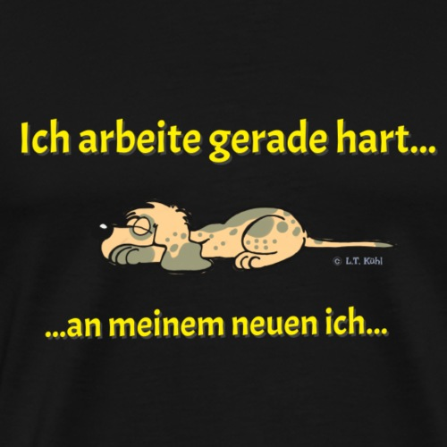 MotivATION - arbeite hart - Männer Premium T-Shirt